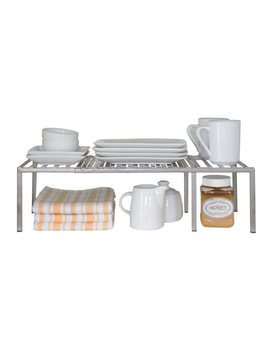 Seville Classics Expandable Kitchen Counter And Cabinet Shelf by Seville Classics