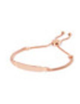 Baja Deco Id Rose Gold Vermeil Bracelet by Monica Vinader