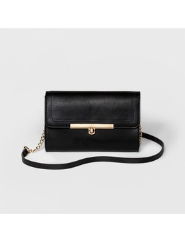 Women's Bar Turnlock Clutch   A New Day™ by A New Day™