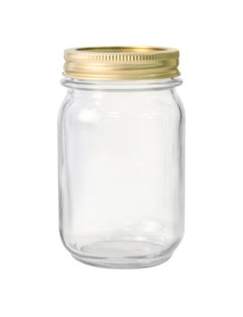 Anchor Hocking Pint Glass Canning Jar Set, 12pk Regular Mouth by Anchor Hocking