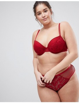 New Look Curve Cotton Lace Brief by New Look Curve