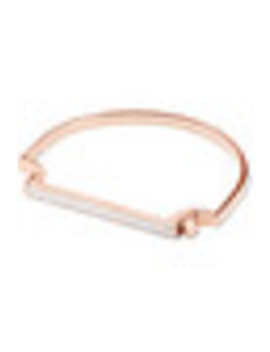 Signature Rose Gold Vermeil Diamond Bracelet by Monica Vinader