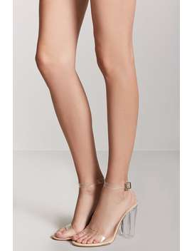 Sandalias Tiras Transparentes by F21 Contemporary