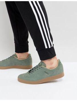 Adidas Originals Gazelle Decon Trainers In Green Cg3705 by Adidas Originals