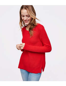 Mixed Rib Sweater by Loft