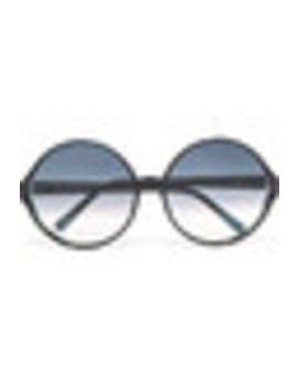 Round Frame Acetate Sunglasses by Linda Farrow