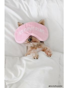 Recovering Graphic Sleep Mask by Forever 21