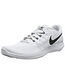 Nike Men's Flex 2016 Rn Running Shoe Pure Platinum/White/Black Size 8.5 M Us by Nike