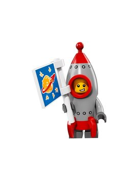 Lego Collectible Minifigure Series 17   Rocket Boy (71018) by Lego
