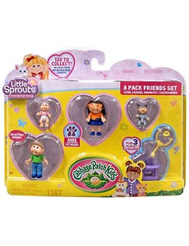 Cabbage Patch Kids Little Sprouts Friends Set 8 Pack Numbers 11 36 45 46 Series 1 by Cabbage Patch Kids