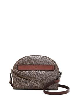 Ridgefield Dome Mini Metallic Leather Crossbody Bag by Kooba
