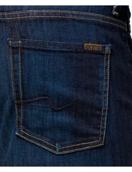 Men's North Pacific Stretch Denim Straight Fit Jeans by 7 For All Mankind