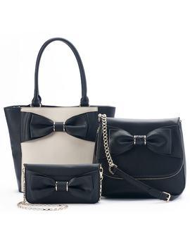 Apt. 9® Holiday Bow Handbag Collection by Kohl's