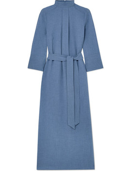Belted Muslin Midi Dress by Cefinn