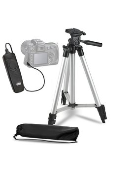 "Brendaz 50"" Inch Lightweight Camera Tripod + Wired Remote Shutter Release For Canon Dslr T6i T6 T6s T5i T5 T4i T3i T2i T1i Eos 60 D 70 D 80 D Cameras. by Brendaz"