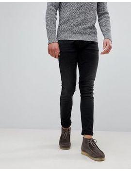 Nudie Jeans Co Tight Terry Jeans Black Breath Wash by Nudie