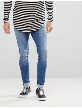Nudie Jeans Co Skinny Lin Jeans Celestial Wash by Nudie