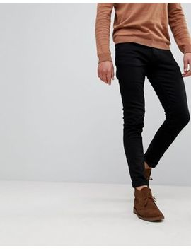 Nudie Jeans Co Tight Terry Jeans Ever Black Wash by Nudie