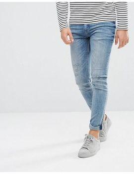 Cheap Monday Tight Skinny Jeans Renew Blue by Cheap Monday