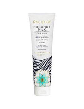 Coconut Milk Cream To Foam Face Wash by Pacifica