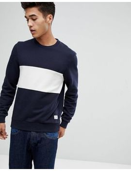 Jack Wills Stratton Sweatshirt In Navy by  Jack Wills