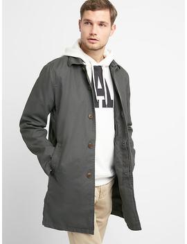 Casual Mac Jacket In Twill by Gap