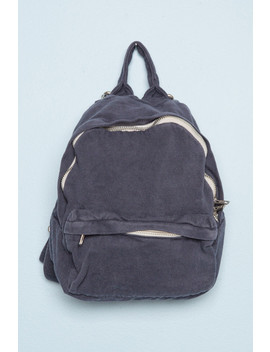 Navy Straps Mini Backpack by Brandy Melville