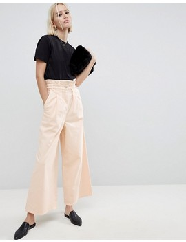 Asos White High Waist Co Ord Jean by Asos White