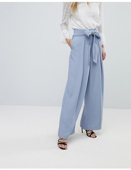 Forever New Tailored Pants With Pleat Front by Forever New