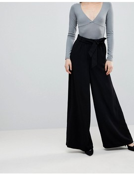 Y.A.S Tall High Waisted Wide Leg Pant by Y.A.S. Tall
