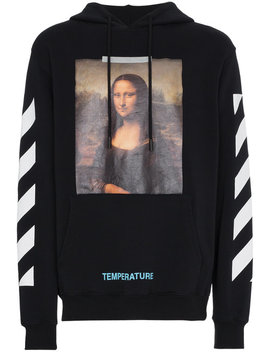 Mona Lisa Print Hoodie by Off White