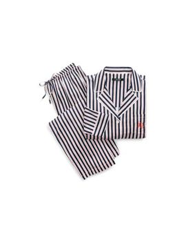 Striped Sateen Pajama Set by Ralph Lauren