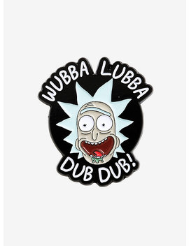 Rick And Morty Wubba Lubba Dub Dub Enamel Pin by Hot Topic