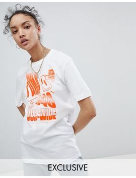 Puma Exclusive To Asos T Shirt With Acid Graphic In White by Puma