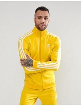Adidas Originals Adicolor Beckenbauer Track Jacket In Yellow Cw1254 by Adidas Originals