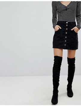 Stradivarius Denim Mini Skirt by Stradivarius