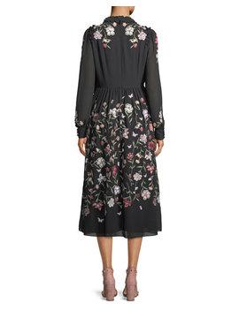 Floria Self Tie Long Sleeve Dress by Kate Spade New York