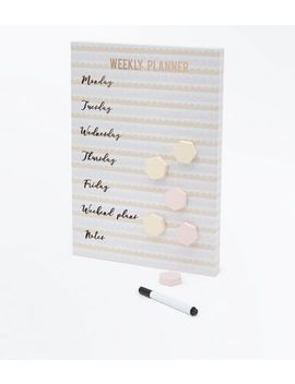 Coral Magnetic Weekly Planner by New Look