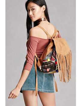 Z&L Europe Fringe Backpack by Forever 21