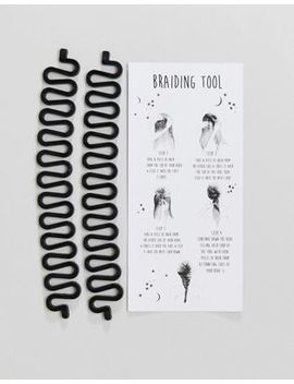 Asos Pack Of 2 Festival Plait Hair Tools by Asos Collection