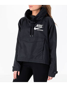 Women's Nike Sportswear Archive Crop Hoodie by Nike
