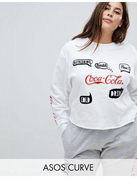 Asos Curve Lounge Coca Cola Sweat by Asos Curve