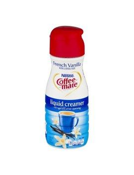 Coffee Mate Coffee Creamer French Vanilla Liquid Creamer 16 Fl.Oz. by Coffee Mate