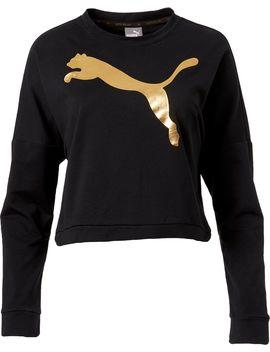 Puma Women's Rebel Crew Cropped Sweatshirt by Puma