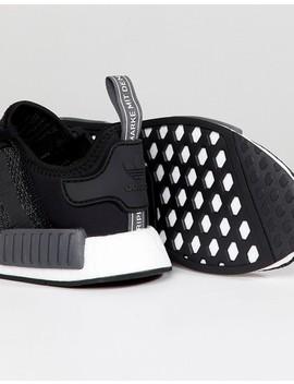 Adidas Originals Nmd R1 Trainers In Black B79758 by Adidas Originals