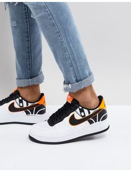 Nike Air Force 1 '07 Lv8 Trainers In White 823511 104 by Nike
