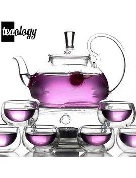 Vandue Corporation Teaology 8 Piece Borosilicate Blooming Tea Set by Vandue Corporation