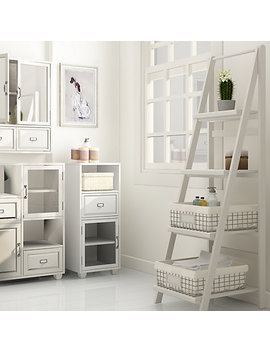 John Lewis Apothecary Double Towel Cupboard by John Lewis