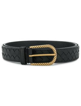 Intrecciato Woven Belt by Bottega Veneta
