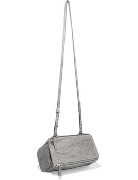 Pandora Mini Washed Leather Shoulder Bag by Givenchy